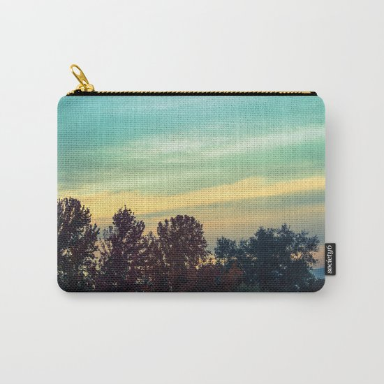 Protean Autumn Sky Carry-All Pouch