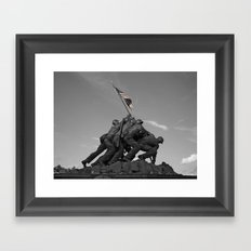Iconic Victory Framed Art Print