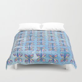 Butterfly I on a Summer Day Duvet Cover