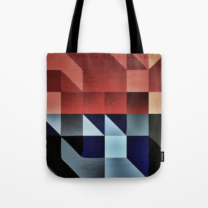 :: geometric maze IX :: Tote Bag