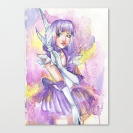 Sailor Saturn Canvas Print