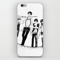 levi iPhone & iPod Skins featuring Squad Levi by PaigeAWArt