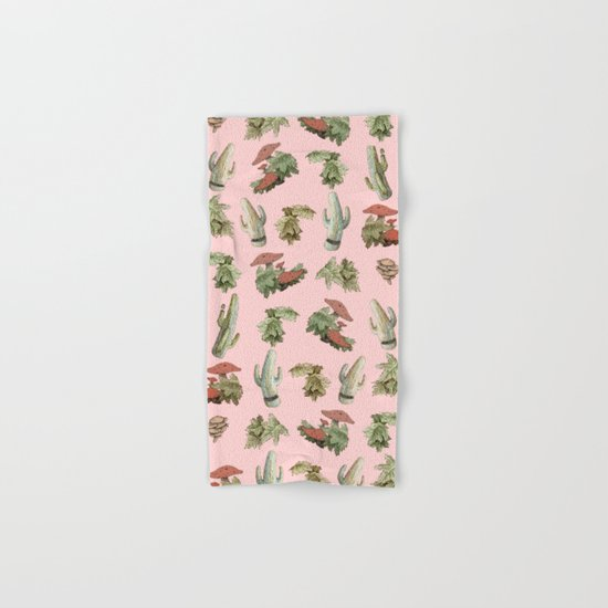 pink nature Hand & Bath Towel