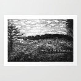 Virginia view Art Print