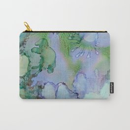 Abstract Blue Birds Carry-All Pouch