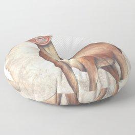 Deer Child Floor Pillow