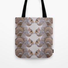 Squirrel Whispers Tote Bag