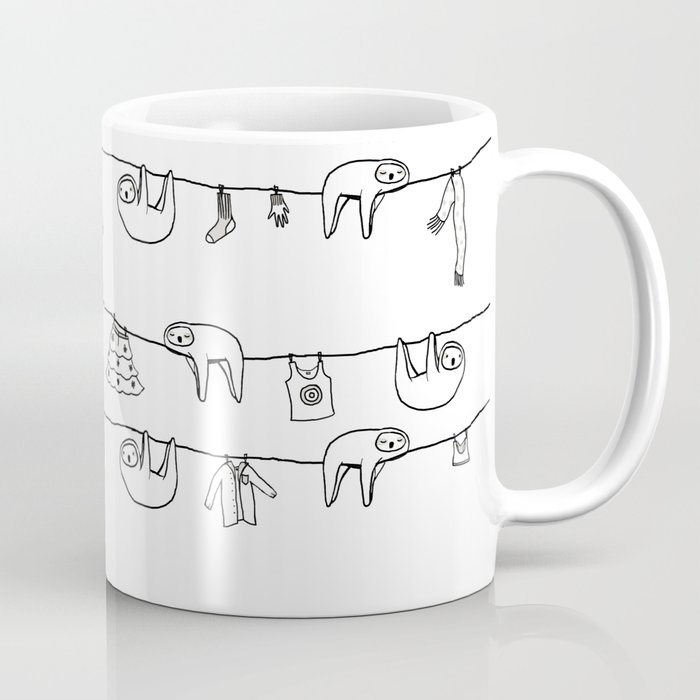 Sloth Laundry Time Coffee Mug