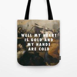 Jusepe de Ribera, Women Gladiators (1636) / Halsey, Gasoline (2015) Tote Bag