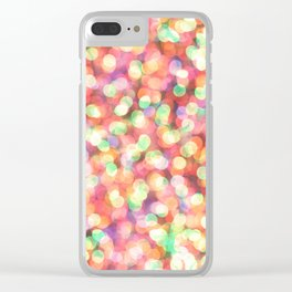 bokeh Clear iPhone Case