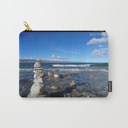 Heavenly Lake Namtso Tibet Carry-All Pouch
