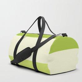 Stripes - Granny Smith Duffle Bag