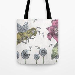 Bee Happy 2 Tote Bag