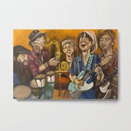Sly Joe and The Smooth Operators Metal Print