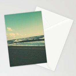 Dark Sand Beach Stationery Cards