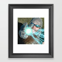 LET'S PLAY CHAINBALL! Framed Art Print