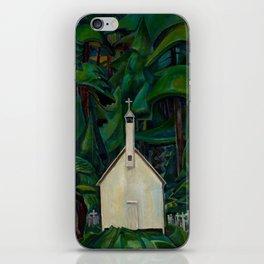 Emily Carr Indian Church iPhone Skin