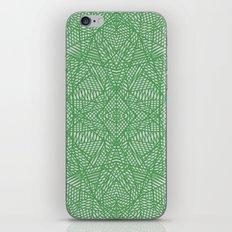 Ab Lace Green iPhone & iPod Skin