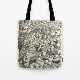 Rolling with the Wind Tote Bag