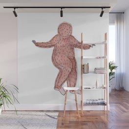 Lady Bigfoot Wall Mural