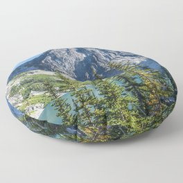 Blue Sky Over Enchantments Floor Pillow