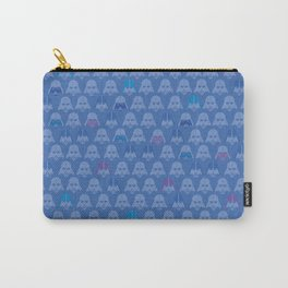 Darth Blue Vader Carry-All Pouch