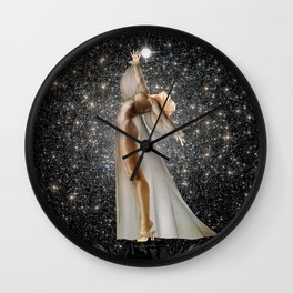 COLLECTING STARS Wall Clock