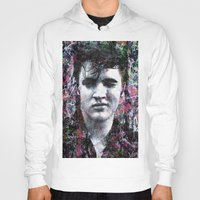 elvis Hoodies featuring ELVIS PRESLEY by Vonis