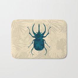 Original Camouflage Pattern Scarab Beetle Bath Mat