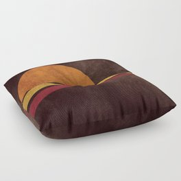 spicchi di sole Floor Pillow