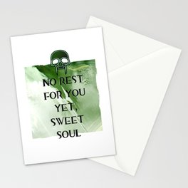 No Rest Stationery Cards