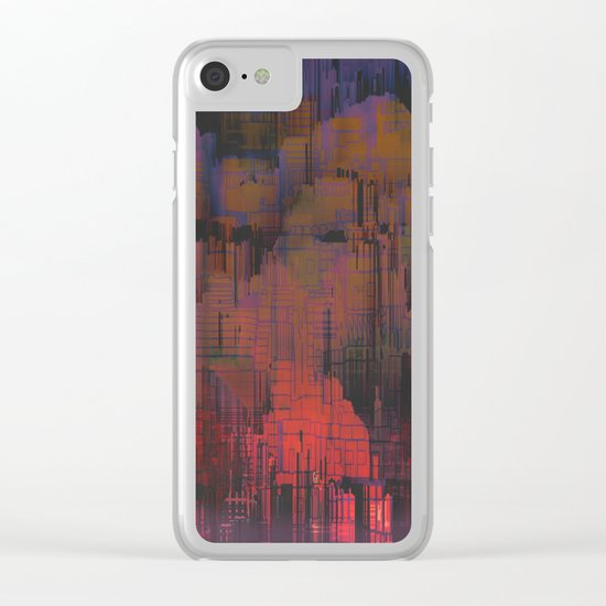 Urban Poetry in the Floating Town / 27-11-16 Clear iPhone Case