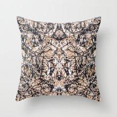 Reflecting Pollock Throw Pillow