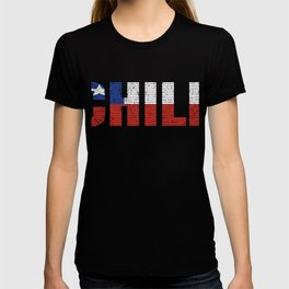 Chile Flag Vintage Chilean Country Gift T-shirt