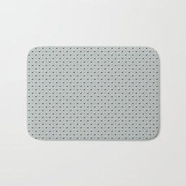 Studded Double Polka Stud on Slate Green Mist 1@50 Bath Mat