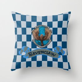 Ravenclaw Eagles Throw Pillow