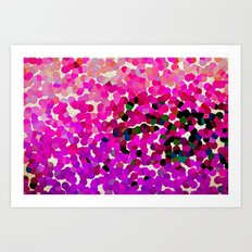 FANTASY-FOREVER IN PINK DREAMS Art Print