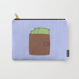 Wallet with money Carry-All Pouch