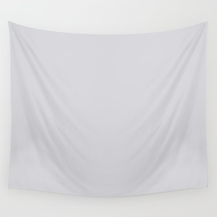 Linen Gray, Solid Collection Wall Tapestry