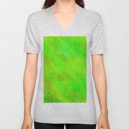 Chartreuse Color Unisex V-Neck