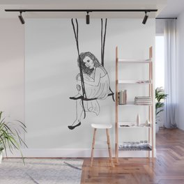 Swinging Thoughts Wall Mural