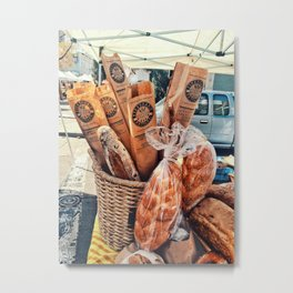 Bread Day Metal Print