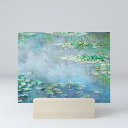 Monet Water Lilies / Nymphéas 1906 Mini Art Print