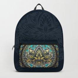 Lotus Mandala - Color Version Backpack