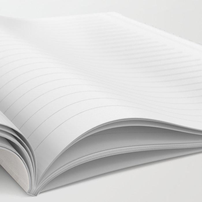 Modern Deco in Black and Cream Notebook