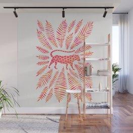 Jaguar – Pink Ombré Palette Wall Mural