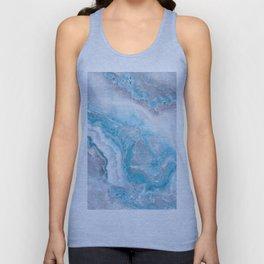 Ocean Foam Mermaid Marble Unisex Tank Top