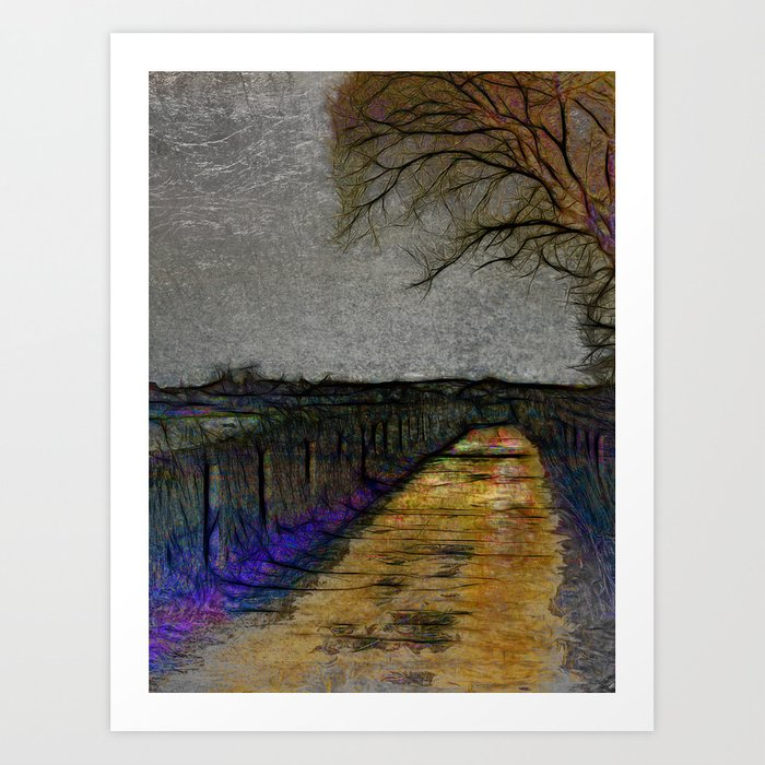 Spring Light By The Seaside Art Print