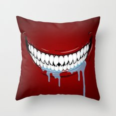 Hungry Technology Throw Pillow