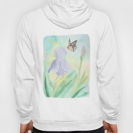Once upon a time, in a watercolor garden Hoody